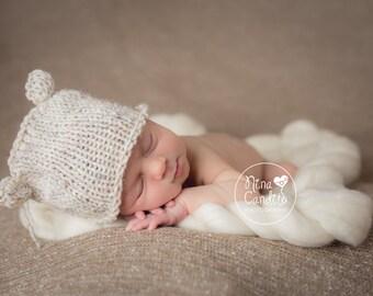 Newborn Hat Boy, Newborn Photo Prop Boy, Newborn Boy Hat, Newborn Props Boy, Newborn Animal Hat, Newborn Beanie Boy, Knit Newborn Hat