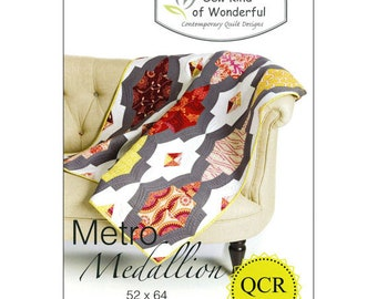 Pattern: Metro Medallion by Sew Kind of Wonderful