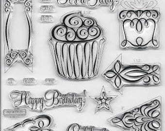 Celebrate Stamp Set, Stamp Set, Sentiment Stamps, Clear Photopolymer Stamps, Close to My Heart