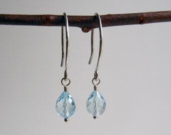 Blue Topaz Nimue Earrings