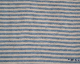 Blue and white striped Jersey