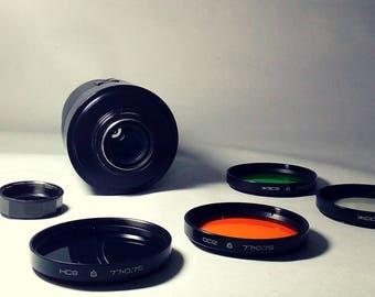 3M-5A-MC SLR 500 mm f/ 8 Lens // Mirror Meniscus Lens // Vintage // Soviet Lens // Russian Camera // Ussr // Vintage Lenses //