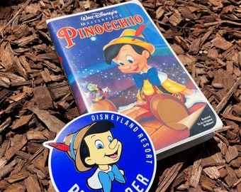 Pinocchio Annual Passholder Magnet or Decal