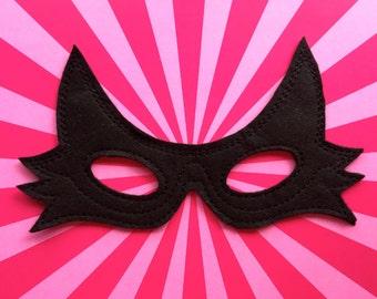 Catwoman Felt Mask