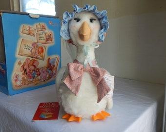W.O.W. 1986 Talking Mother Goose in Original Box
