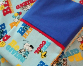 Peanuts PillowCase (can be Personalized)