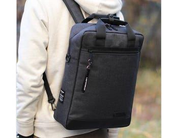 Mens Laptop Backpack 3 Way Bag  College School Bag Shoulder Bag 388