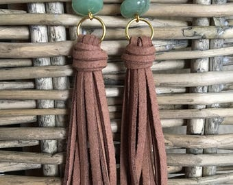 Tassel Earrings, Modern Tassel Earrings, Statement Earrings, Lightweight Earrings, Dangle Earrings, Boho Earrings, Long Earrings