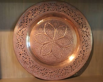 Large Copper Wall Hanging