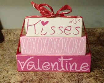 Valentines Day blocks