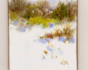 Spring Trying II Original Oil Painting
