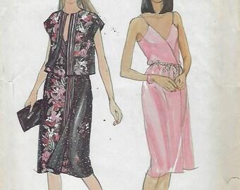 """Butterick 3640  Misses' Dress And Jacket  Size 16 Bust 38""""  UNCUT"""