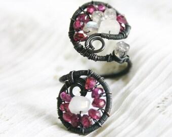 Phalavat / / / ein cocktail-Ring von Jhumki Luxe - designs von Regentropfen