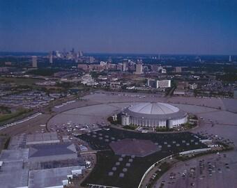 Houston Astro Dome Oilers Astros vintage shot 8x10 photo poster print