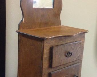 Wooden Doll Dresser