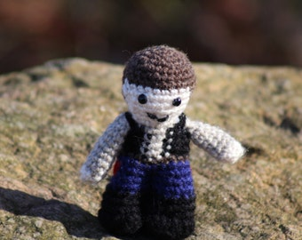 Han Solo, Star Wars, Amigurumi, Crochet