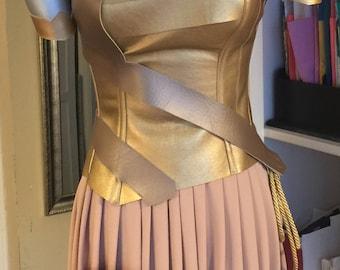 Wonder wiman  Costume  Warrior  Custom Made Sizes XS-L