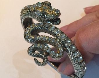 Vintage Snake bracelet, divine costume piece