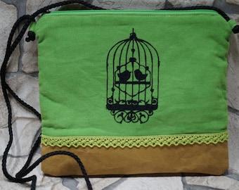 """""""Bird Love"""" shoulder bag"""