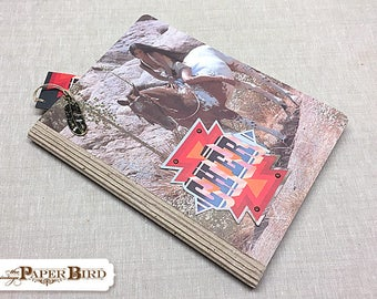 Cher - Half Breed | Up-cycled | Recycled Album | Altered Notebook | Blank Book | Idea Book | Journal