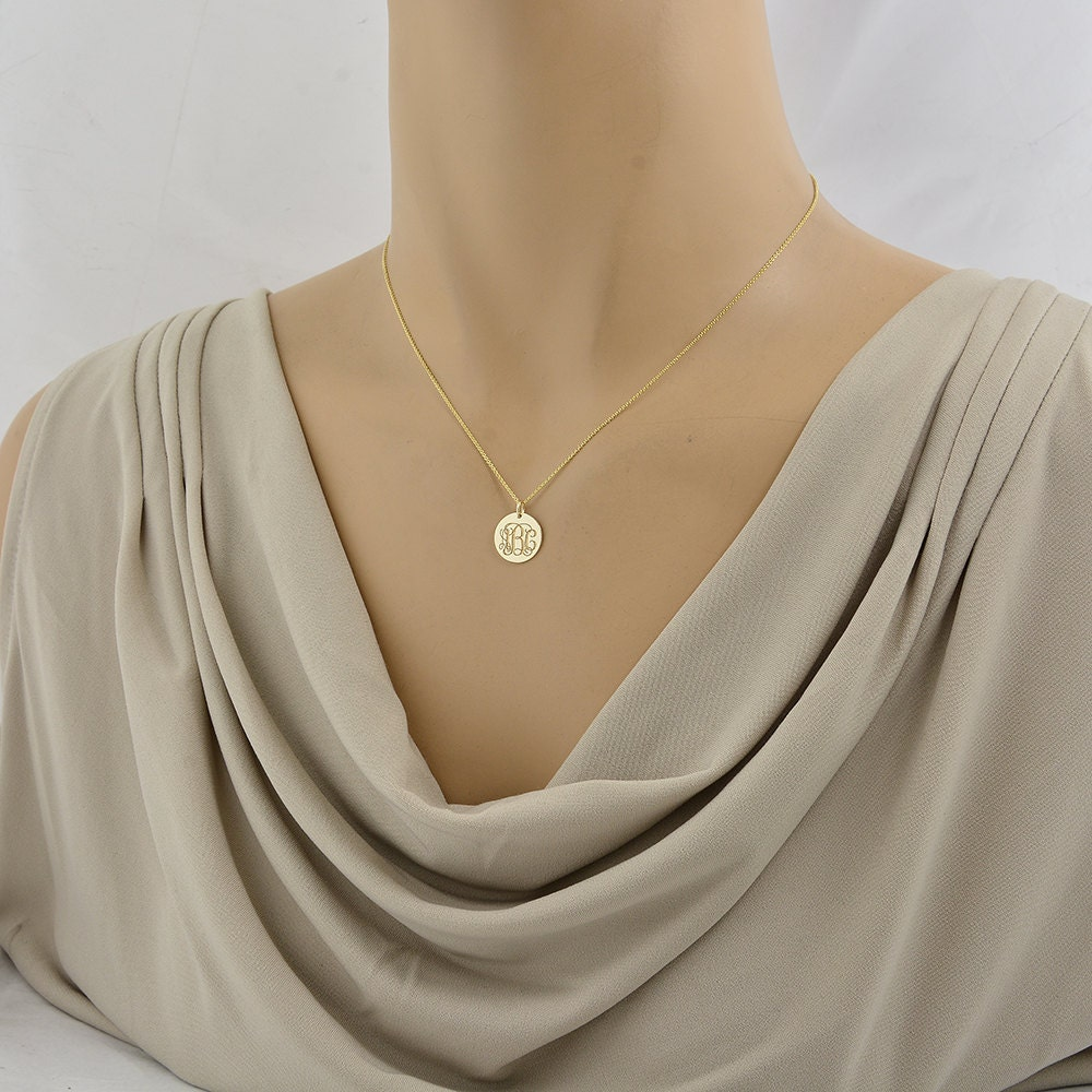 inch product size personalized jewelry initial necklace xxl large from reliable pendant com buy store mother aliexpress gold monogram color