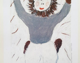 1993 Kid's Drawings from Greenland - Original Vintage Poster