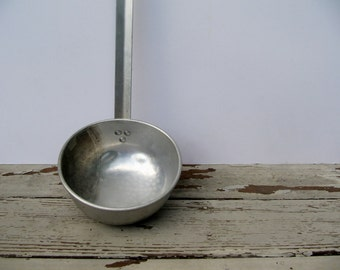 Vintage Aluminum Ladle