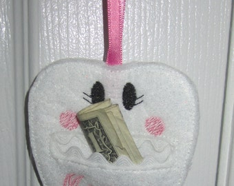Tooth Fairy Pouch Door Hanging with optional Personalization!