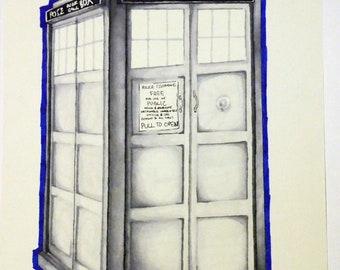 TARDIS Print