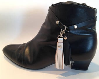 Anklet Tassel Pair Adapt/Transform Ankle Boots to match an Outfit