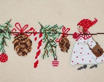 Woodland Fairies. Machine  cross stitch embroidery design.