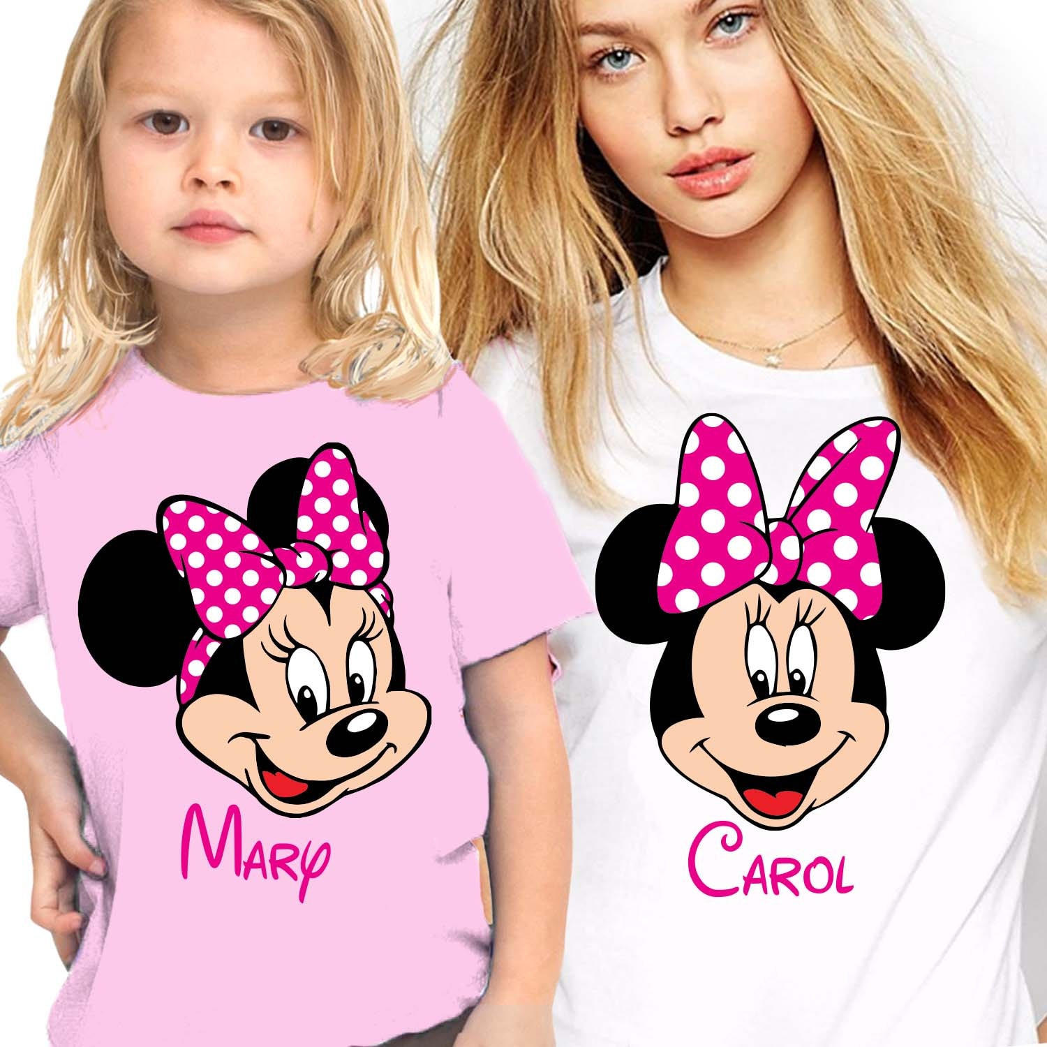 Mommy and me shirts Personalized Mommy and Me Disney shirts