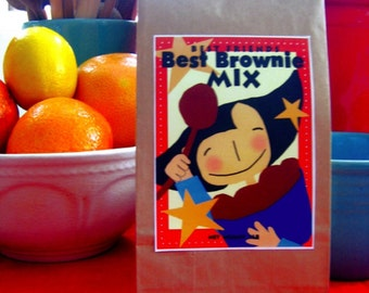 Best Brownie Baking Mix  imported chocolate buy 5 get 1 free great hostess teacher gift