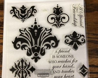 D1453 Friendship - CTMH My Acrylix Stamp Sets