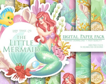 The Little Mermaid Paper Pack