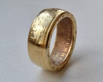 Coin Ring - Ukrainian coins rings - Souvenir from Ukraine - 1 hryvnia