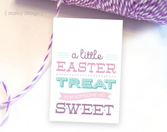 Easter tags etsy easter tags printable easter favor tags easter gift tags instant download easter treat tags easter party negle Gallery