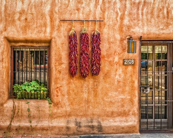 The Three Ristras, Albuquerque Old Town, New Mexico