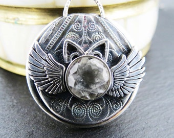 Missy Memorial Cat Necklace EXAMPLE ONLY