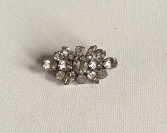 Vintage 1940's paste brooch. Wedding. Party. Bride. Bridesmaid.