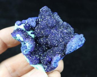 Extreme Sparkling Blue Azurite from Liufengshan Anhui China CM770098