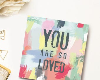 You Are So Loved Book, Love Book, Love Gifts