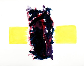 The Chaos In-Between - Abstract Watercolor Painting Print