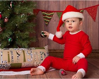 Alex and Anna Winter PJs: Girls Pajamas PDF Pattern, Christmas Pajamas Boys Pajamas PDF Pattern, Baby & Toddler Pajamas PDF Pattern