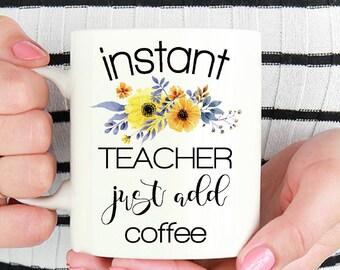 Teacher Mug - Christmas Gift for Teachers - Teacher Coffee Mug - Funny Teacher Mug - Teacher Gift - New Teacher Gift - New Teacher Mug