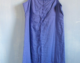 90s Romantic Dress Vintage Purple Summer Dress Sleeveless Purple Dress 90s Summer Dress