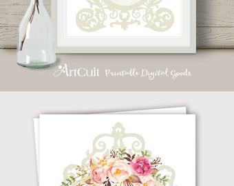 "Printable artwork ""Mirror, mirror, on the wall..."" digital download art print for home teen room art decor print-it-yourself ArtCult designs"