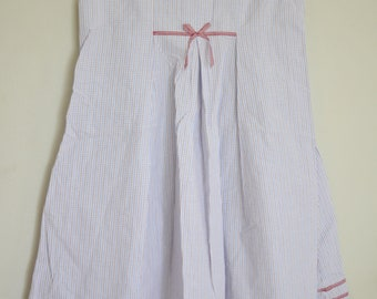 vintage handmade girls smock summer dress size 6x