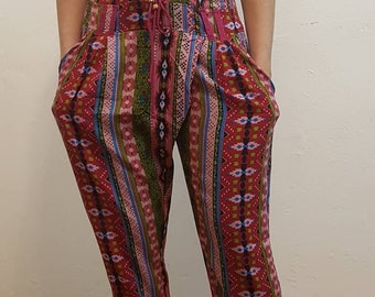 Crep Printed Trousers