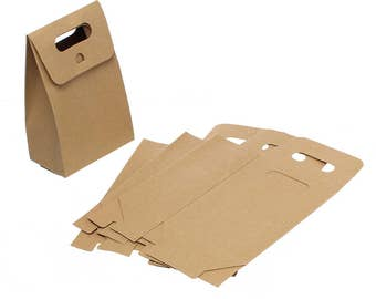 Pack 10 bags cardboard Craft gift for jewellery ref. 192277-2